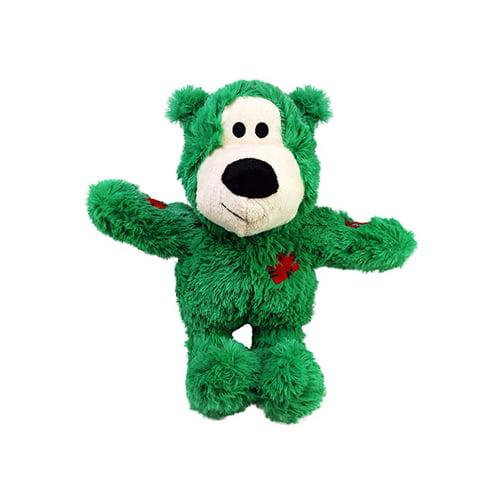 KONG Wild Knot Bear grønn farge.