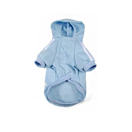 Produktfoto av adidog hettegenser lys blå