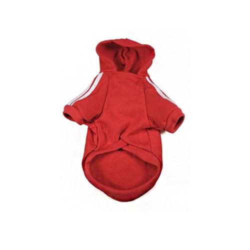 Produktfoto av adidog hettegenser rød