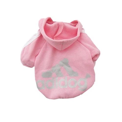 Produktfoto av adidog hettegenser rosa