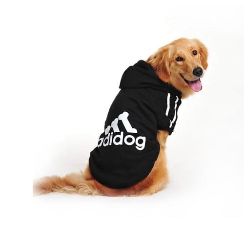 Produktfoto av adidog hettegenser stor hund sort