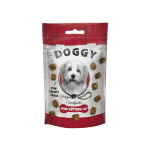 Produktfoto av pose med Doggy godbiter til hund