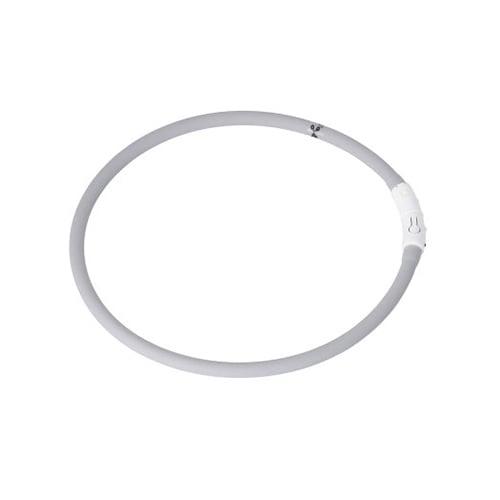 Produktfoto av LED-ring halsbånd til hund, grå