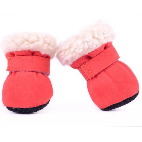 Produktfoto av myke vintersko til hund